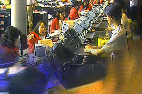 Hongkong Bank Tellers - front line