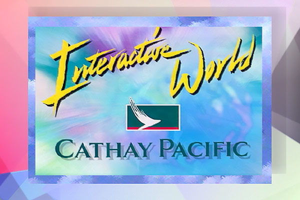 Cathay Pacific - Inflight Interactive World