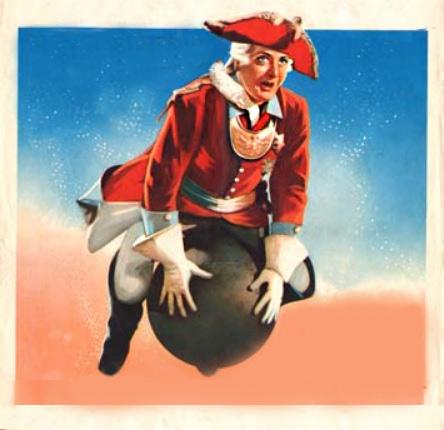 Baron Munchausen - Cannonball Ride