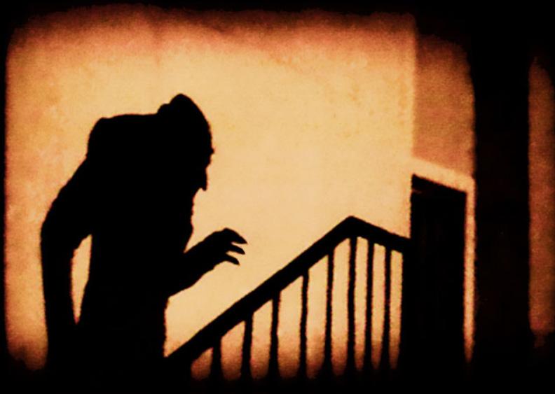 Nosferatu on the staircase