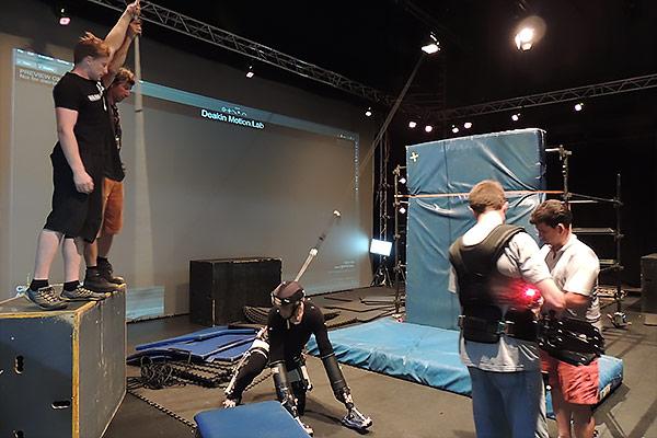 Motion Capture for Stonerunner Film at Deakin University
