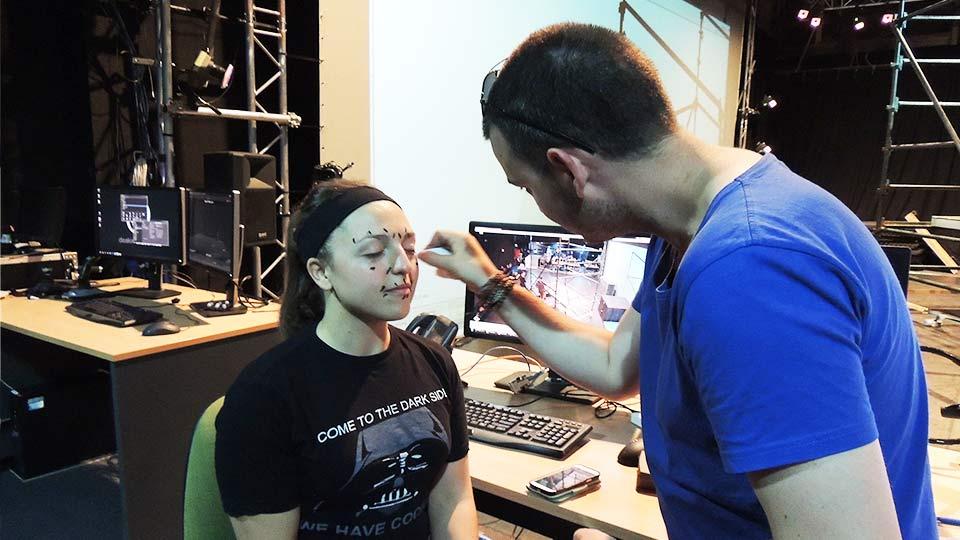 Facial Capture Data Points