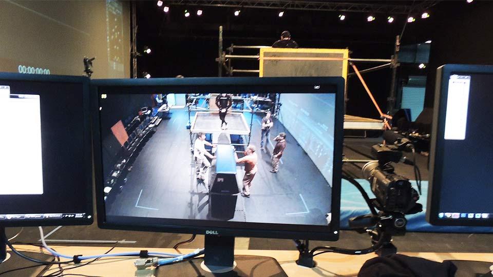 Parkour Rigging - Deakin Motion Capture Lab