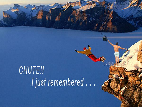 CHUTE - I Forgot
