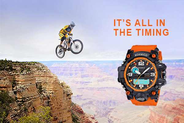 Boamico Military Watch- Good Timing