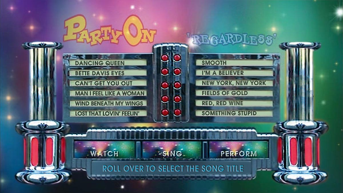JUKEBOX 'Party On' Perform It Menu