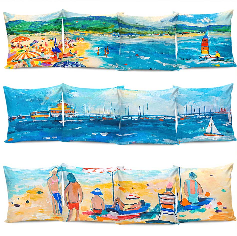 Artistic Printed Cushion Covers