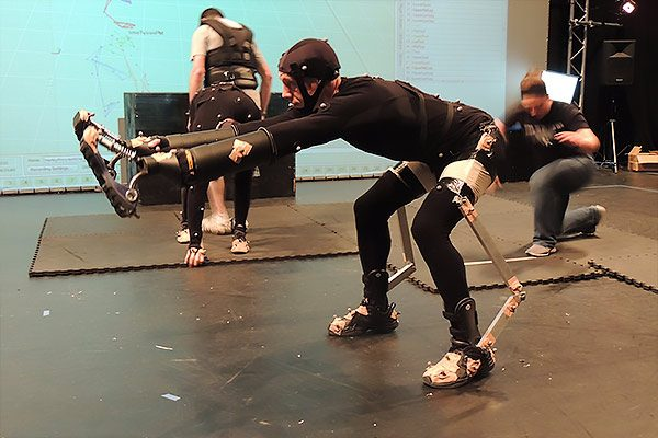 Motion Capture - Deakin Motion Lab